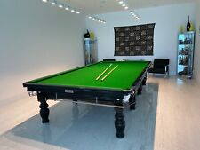 "RILEY Snooker Billiard Table ""Aristocrat Special Edition"" signed w/ Accessories"