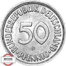 J384  50 Pfennig 1950 D in f.STG  945126