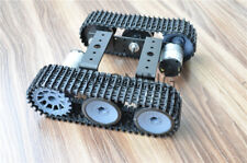 Aluminum alloy tank robot chassis 12V Sn5000 tracked car Diy arduino