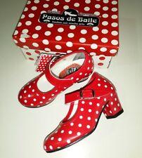 Zapatos de baile Flamenca niña. Talla 29. Pasos de Baile. 100% hecho en España