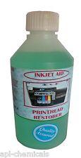INK JET CARTRIDGE CLEANER  RESTORER large 500 ml printer ink blockage cleaner .