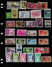 VIETNAM :NICE  STAMP COLLECTION   DISPLAYED ON 1 SHEET. SEE SCANS