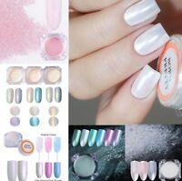 Born Pretty Pearl Nail Art Powder Dust Glitter  Pigment Decoration Tips