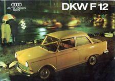 Auto Union DKW F12 Italian market sales brochure
