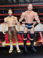 ENZO AMORE & BIG CASS WWE Mattel action figure BASIC Series Nxt PLAY Wrestling
