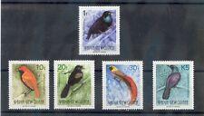 PAPUA NEW GUINEA Sc 755,7,9,60,8(MI 672-6)I)**VF NH 1993 BIRDS OF PARADISE $40