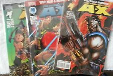The Man Called A-X (14) Comic Book Lot includes Dc and Malibu series runs