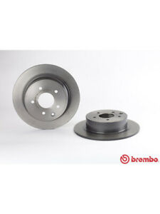 2 x Brembo Brake Rotor FOR NISSAN PULSAR C12 (08.A715.11)