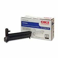 Oki Black Image Drum Kit For C6100 Series Printers - Black (43381720)