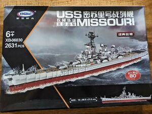 XINGBAO USS Missouri Battleship Building Blocks 2631 PCS