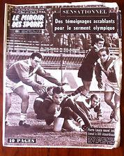 Miroir des sports 2/11/1959; Pierre Lacaze/ Rhadi/ Henry Anglade/ Foix/ Rey Henr
