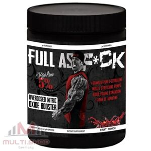 FULL AS F*CK 387g PreWorkout Pump Booster Muskelaufbau - Rich Piana 5% Nutrition