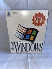 Microsoft Windows 3.1 Operating System New Sealed Free Shipping