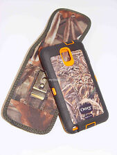 (A10) Clip Pouch/Holster Samsung Note 2 3 4 5  FOR Otterbox Defender Case - Camo