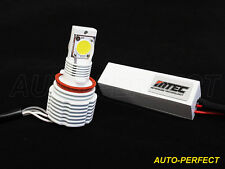 MTEC 6000K H8 H9 LED FOG LIGHT Bulbs 6200+ Lumen