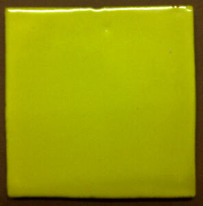 MEXICAN WALL TILES HAND MADE INTENSE YELLOW  BOX 90 PZ
