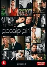 GOSSIP GIRL SEIZOEN 6 DVD BOX SET  nieuw  SEALED