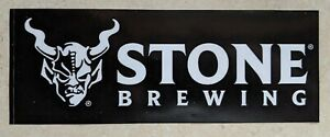 Stone Brewing Company STICKER decal craft Brewery Micro Beer Escondido San Diego
