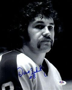 Dave Schultz autographed signed 8x10 photo NHL Philadelphia Flyers PSA COA