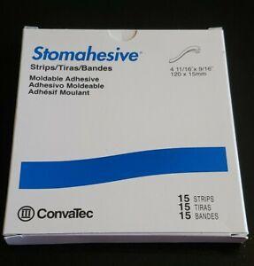 1 box- 15 Convatec Stomahesive Moldable Adhesive Strips #25542