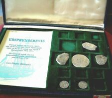 Presentation Box with COINS from AKERENDAM shipwreck