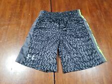 Boys Under Armour Black/Gray Shorts Size 6