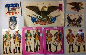 Meyercord Decals Eagles Flag USA Revolution Cannon Drum incl. 1104, 1504 + more