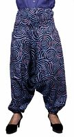 Apparels India Aladdin Cotton Circle Boho Hippie Harem Trousers UK Yoga Pants