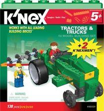 K'nex Tractors And Trucks #61022/3224 Builds 10 models Nrfb 138 pc