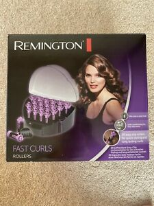 REMINGTON KF40E CURL CURLS ELECTRIC FAST HEATED ROLLERS WITH WAX CORE