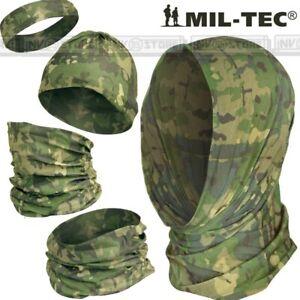 HEADGEAR MILTEC Scaldacollo Sciarpa Cappello Passamontagna Multi Uso Multicamo
