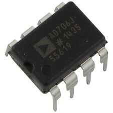 AD706JNZ Analog Devices Op-Amplifier Dual pA Input Current OpAmp DIP-8 856131