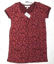 NWT AEROPOSTALE MEDIUM MAROON/RED BLOUSE/TOP SIZE M BRAND NEW red floral ChEaP