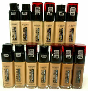 (2) Loreal Infallible 24HR Fresh Wear Foundation YOU CHOOSE YOUR COLOR