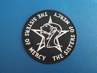 The Sisters of Mercy Sew or Iron On Patch