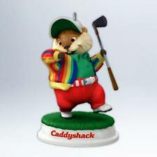 Gopher Golfer 2012 Hallmark Caddyshack Ornament - Golf Clubs  Golf Ball  Movie