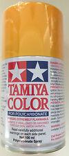 Tamiya 86019 PS-19 Camel Yellow Polycarbonate/Lexan Spray Paint 100ml NEW