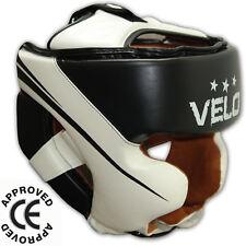 VELO Boxing Head Guard Adult Helmet Kick MMA Martial Arts Protection Training