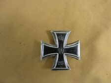 AUTHENTIC Vintage WWI German 1914 Iron Cross 1st Class Badge w/ Pin Assembly EK1