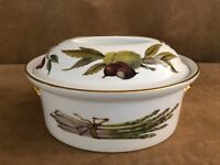 Royal Worcester Evesham oval game casserole shape 24 size 5 china porcelain dish