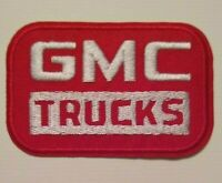 "GMC Truck Trucks~Embroidered PATCH~3 1/16"" x 2""~Mechanic~Gearhead~Iron or Sew On"