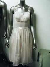 Vintage Vanity Fair Pale Pink Applique Negligee Nightgown Lingerie