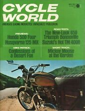 1971 May Cycle World - Vintage Motorcycle Magazine