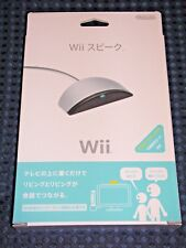 Nintendo Official Authentic Wii Speak Microphone Animal Crossing Chat JAPAN F/S