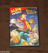 alvin and the chipmunks trick or treason dvd kids halloween disney like dvd