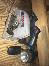 "Bosch 24V  6-1/2"" cordless Circular Saw And Flash  Light"