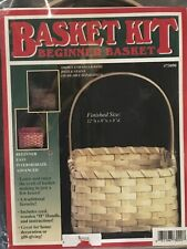 Beginner Square Basket Making Kit, Weaving Kit, Basket Supplies, Reed, Pattern