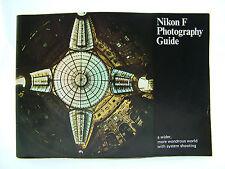 VINTAGE NIKON F CAMERA PHOTOGRAPHY GUIDE
