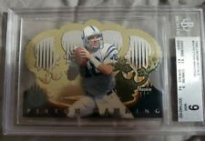 1998 CROWN ROYALE PEYTON MANNING ROOKIE RC FOIL #54 COLTS Mint 9 Beckett