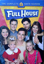 FULL HOUSE - COMPLETE SIXTH SEASON - (4) DVD SET - STILL SEALED